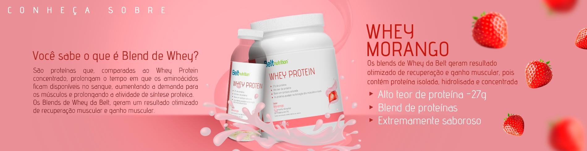Whey Protein Blend Morango