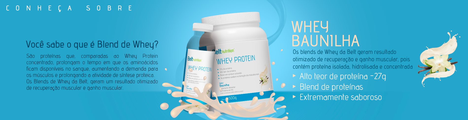 Whey Protein Blend Baunilha