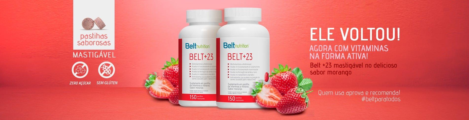 Belt +23 Morango