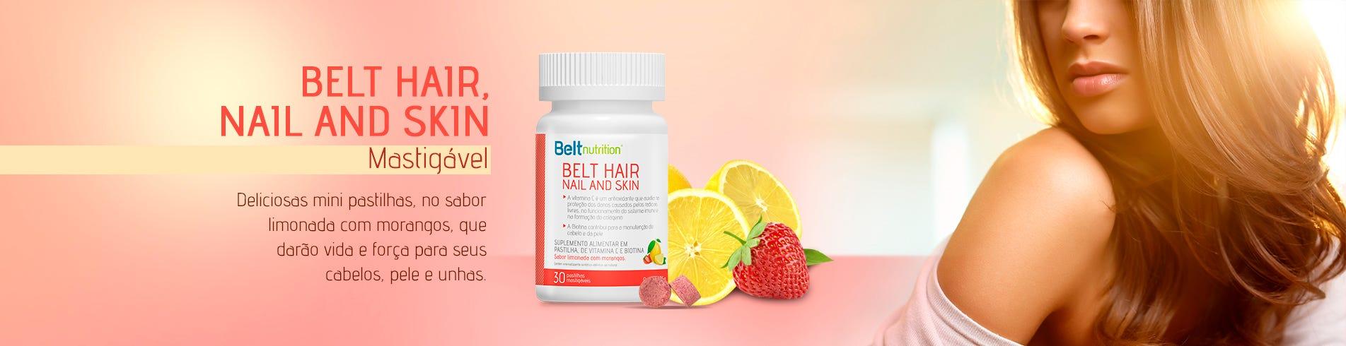 Hair, Nail ad Skin Limonada com Morangos