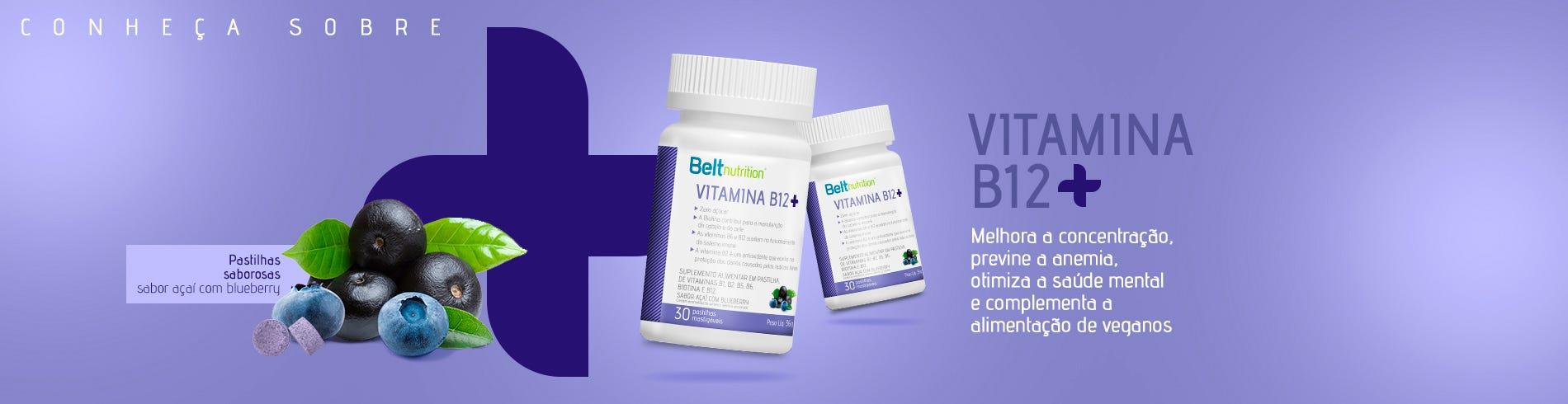 Vitamina B12 Pastilha Açaí