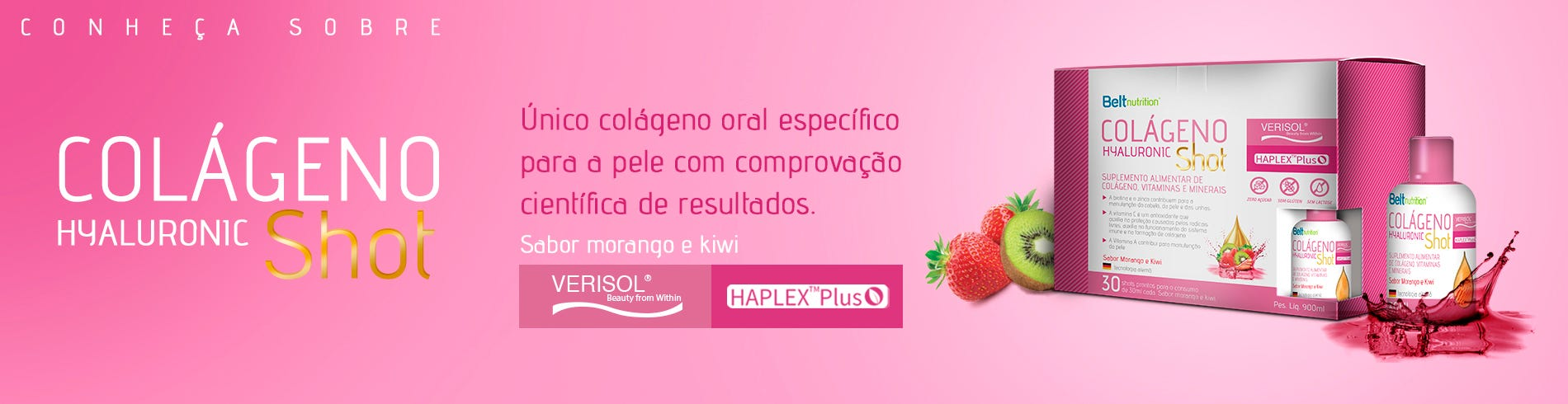 Belt Colágeno Verisol Hyaluronic