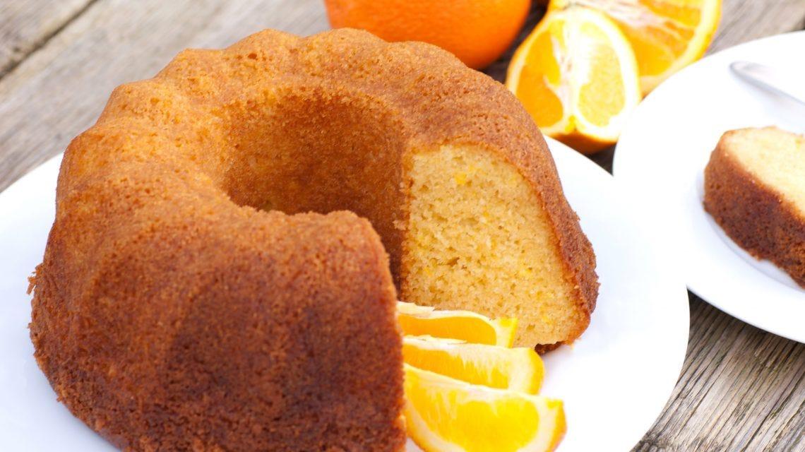 bolo de laranja fitness